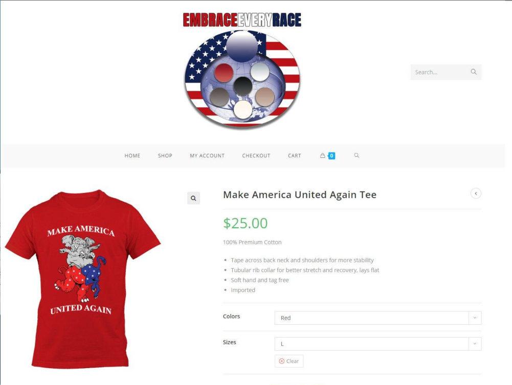 Make America United Again Specimen